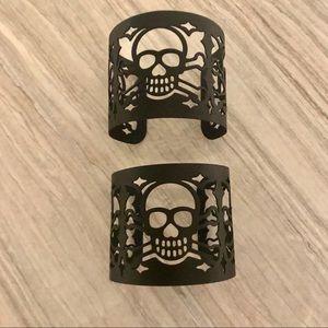 Skull black cuff